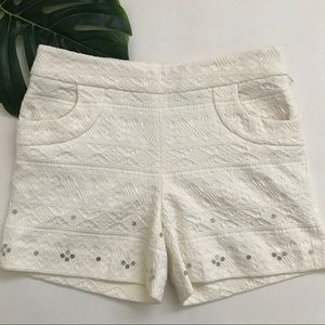 ANTHROPOLOGIE | ELEVENSES HIGH WAISTED SHORTS  A18